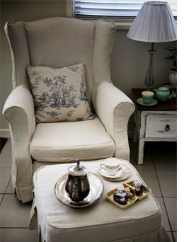 Amazing How To Slipcover Or Reupholster A Wingback Chair