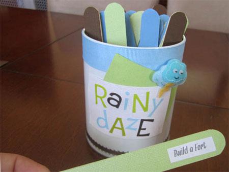 Home Dzine Craft Ideas Rainy Day Activity Sticks