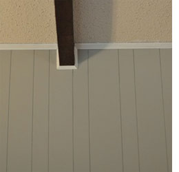 Home Dzine How To Paint Tongue And Groove Pine Panelling