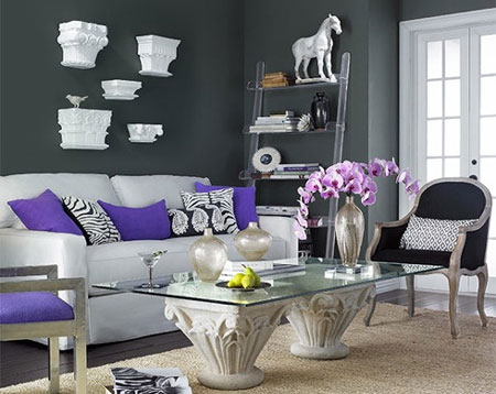 Home dzine home decor the art of using accent colours for Accent colors for neutral rooms