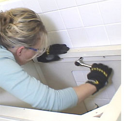 Home Dzine Bathrooms How To Fit An Undermount Basin Or Sink
