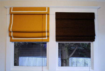 Home Dzine Craft Ideas Cover Up Bamboo Blinds