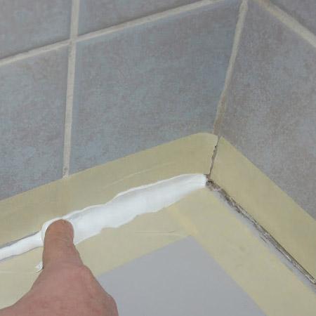 Home Dzine Home Diy How To Seal Around Bath Tub Or Basin