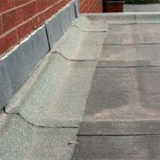 Maintain or repair a flat roof