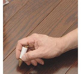 home dzine home diy hide scratches on furniture. Black Bedroom Furniture Sets. Home Design Ideas