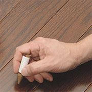 Quick fixes for wood touch ups