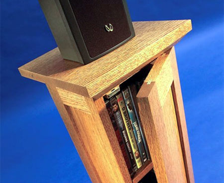 Home Dzine Home Diy Make A Speaker Stand With Cd Or Dvd