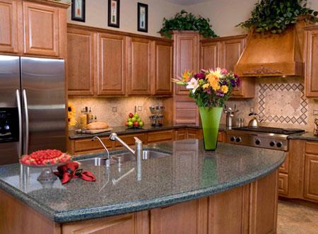 Home dzine kitchen choose kitchen countertops for Builders warehouse kitchen designs