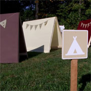 Make these quick and easy play tents