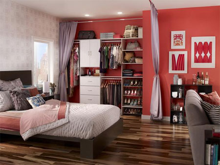 Home Dzine Bedrooms Planning Or Installing A New Closet