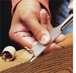 Home Dzine Home Diy How To Use A Wood Chisel