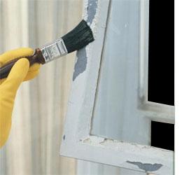 HOME DZINE   Painting steel window frames