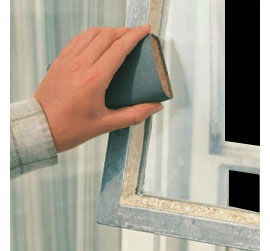 HOME DZINE Painting steel window frames