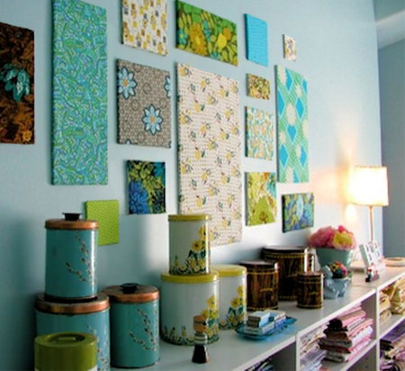 Home Dzine Craft Ideas Make Use Of Fabric Scraps For Decor Projects