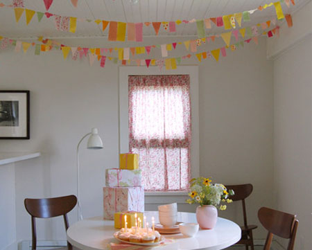 Make use of fabric scraps for decor projects