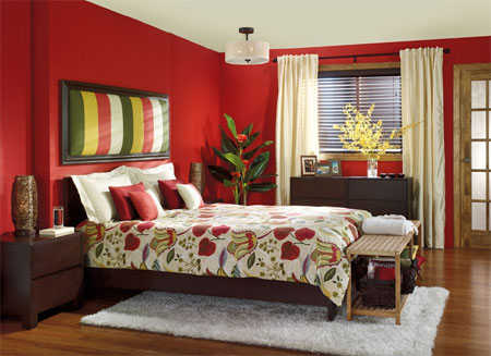 Heat up the bedroom. HOME DZINE Bedrooms   Bedrooms by design