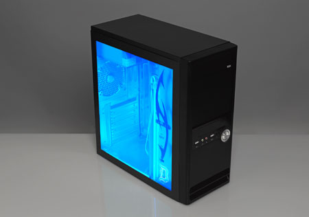 Home Dzine Home Diy Cool Blue Computer Case