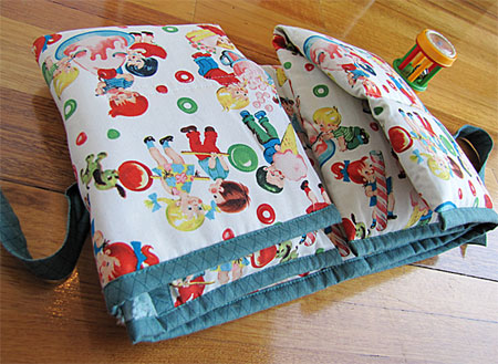 Home Dzine Crafts Fabric Baby Changing Bag