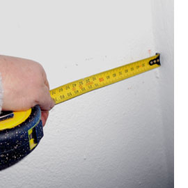 measure for shelf