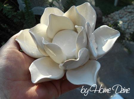 Home Dzine Craft Ideas Make A Clay Tealight Candle Holder