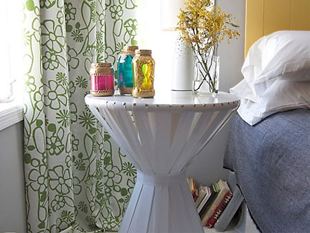 home dzine bedrooms | make a bedside table for free! Make Bedside Table