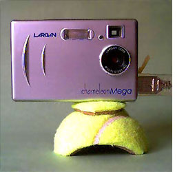 tennis ball for camera tripod