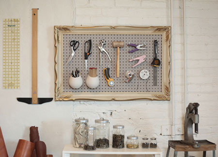 Home Dzine Craft Ideas Great Uses For Pegboard