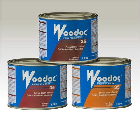 Wood stain and seal tips from Woodoc 35