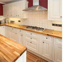 Kitchen Countertop Materials South Africa : HOME DZINE Kitchen Solid wood countertops for kitchens