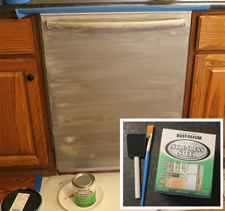 You Can Paint A Fridge, Freezer, Washing Machine, Tumble Dryer Or Any  Appliance In The Home If You Use Rust Oleum Appliance Epoxy Spray.