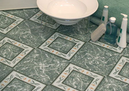 Home Dzine Home Improvement Vinyl Floor Tiles Are