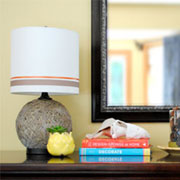 Transform a dated table lamp