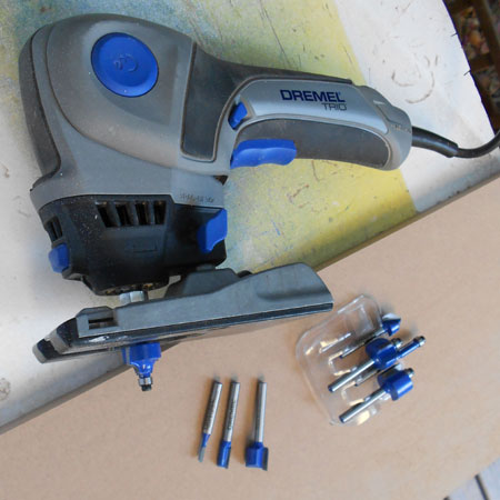 New Dremel Trio router bits