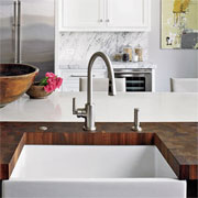The natural beauty of wood countertops