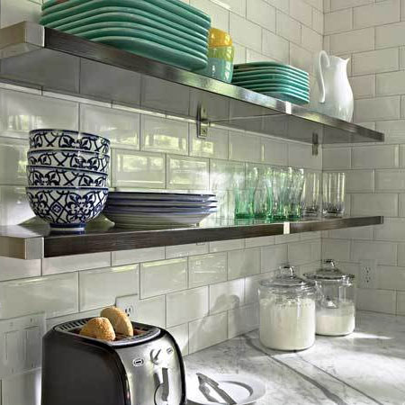 Awesome Shelving Ideas For A Kitchen