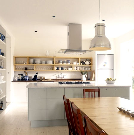 Home Dzine Kitchen Shelving Ideas For A Kitchen