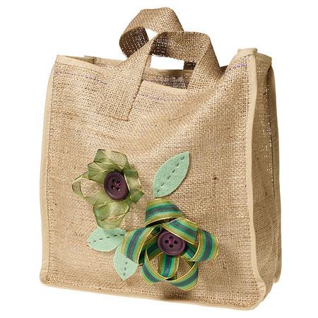 How To Make A Cotton Burlap Or Hemp Tote Bag