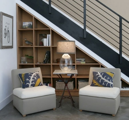 Home Dzine Home Decor Ideas For Using Space Under The Stairs