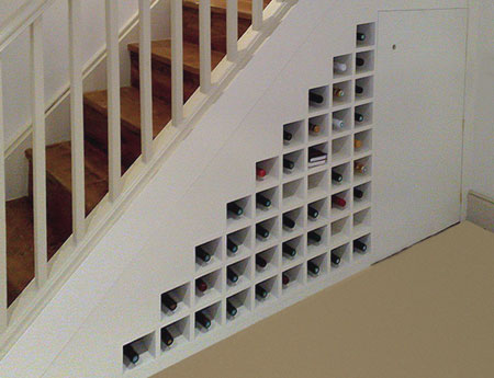 Ideas For Using Space Under The Stairs
