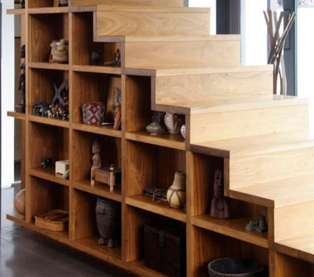 to provide you with ideas and inspiration for using the space under stairs here are some ideas that i came across
