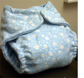 make your own cloth cotton diapers
