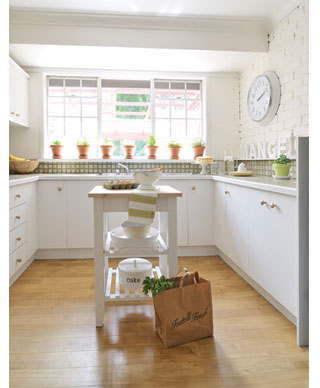 home dzine kitchen how to give a kitchen a new look