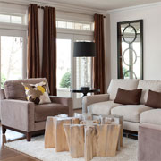 The right window treatments finish a room