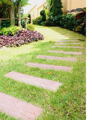 HOME DZINE Garden Add a path or walkway to a garden
