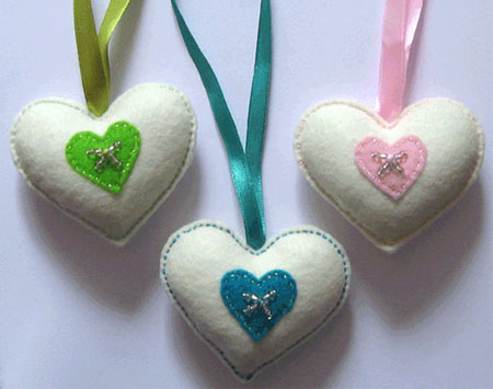 Heartfelt crafts