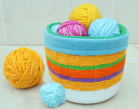 Weaving With Recycled Materials