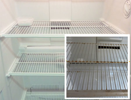 Home dzine kitchen how to spray paint your fridge for Can you use exterior paint on the inside