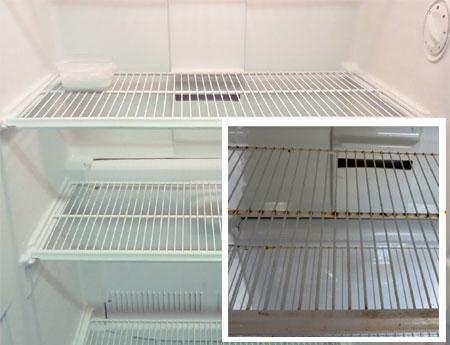 home dzine kitchen how to spray paint your fridge. Black Bedroom Furniture Sets. Home Design Ideas