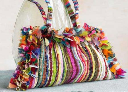 Home dzine green living weaving old clothes - How to reuse old clothes well tailored ideas ...