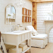 Reuse, recycle and restore for a bathroom